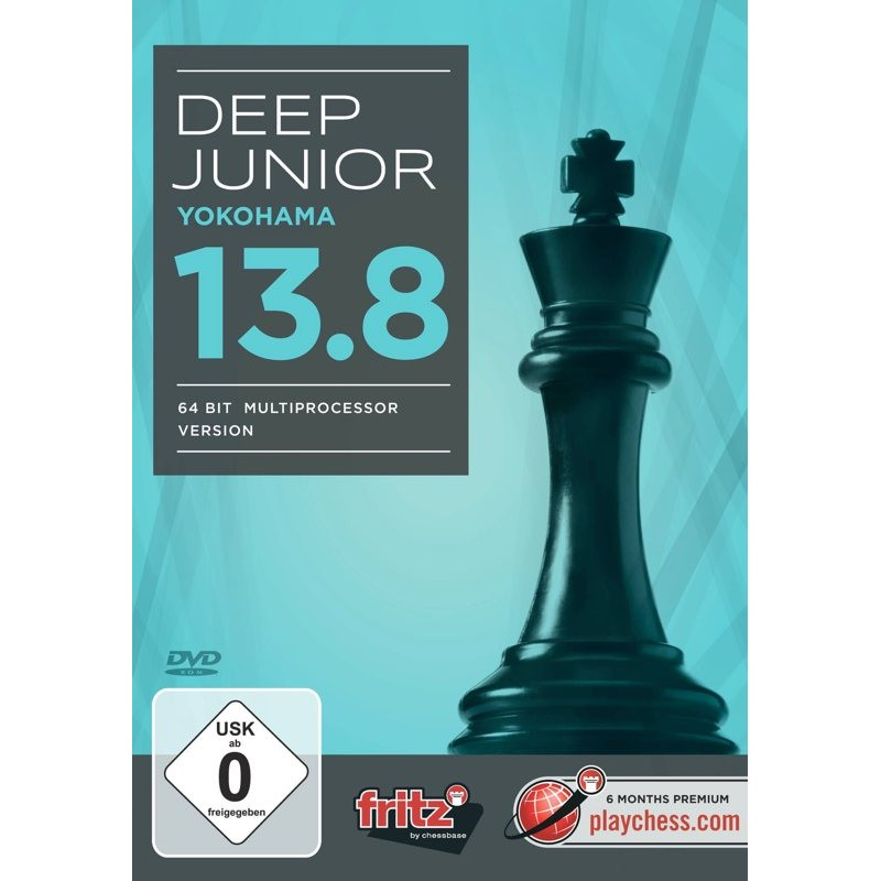 Deep Junior 13.8 - Yokohama, 64 bit multiprocessor version