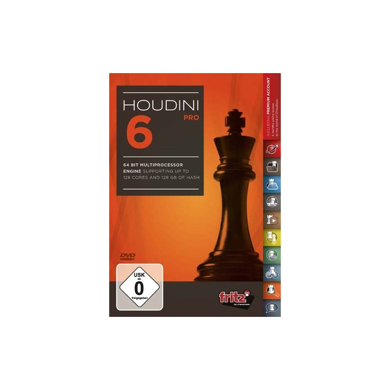 Houdini 6 Chess Pro Edition (PC-DVD)