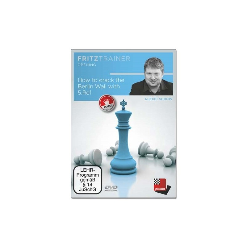 How to crack the Berlin Wall with 5.Re1 - Alexei Shirov (PC-DVD)