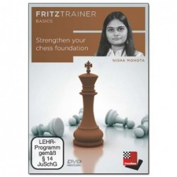Strengthen Your Chess Foundation - Nisha Mohota (PC-DVD)