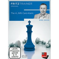 The 4...Nf6 Caro-Kann (PC/DVD) - Nigel Davies